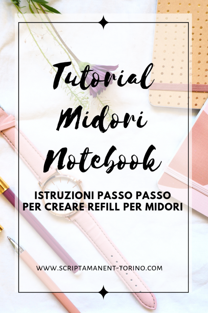 #tutorial #midori #notebook #scrapbooking