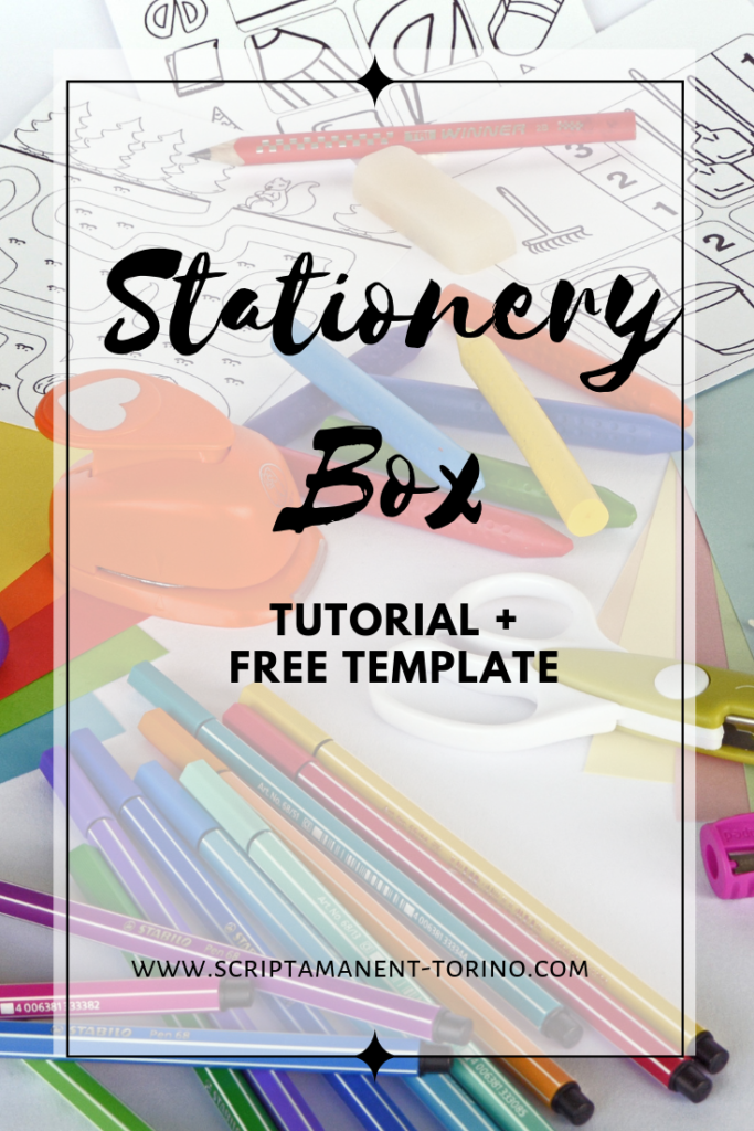 #tutorial #scrapbooking #planneraddict #stationerybox