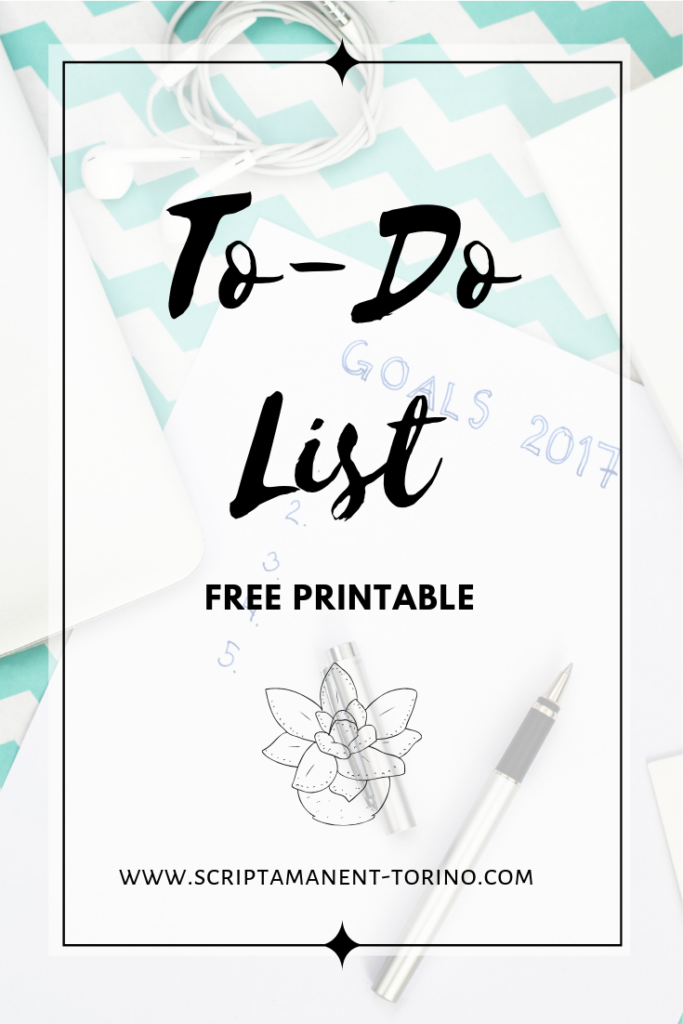to-do list #freeprintable #planneraddict