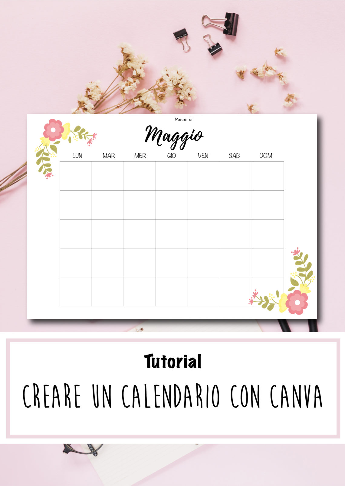 Fare Un Calendario Con Foto.Come Creare Un Calendario Per Planner Con Canva Scripta