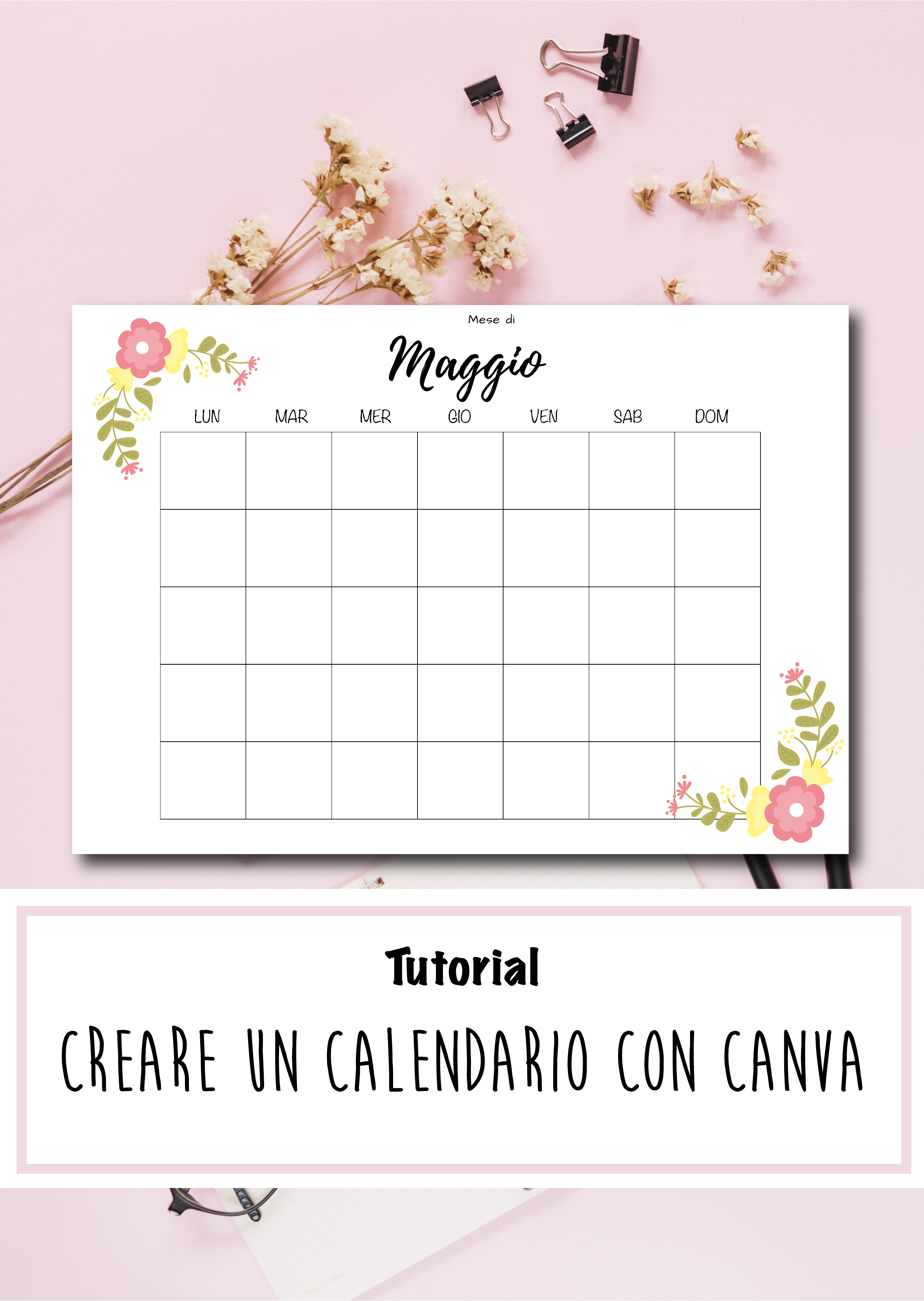 Come Creare Un Calendario Con Excel.Come Fare Un Calendario Calendario 2020