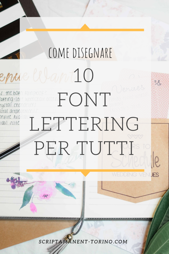 how to draw lettering font for bullet journal
